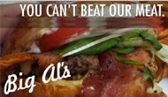 Thanksgiving at Big Al's Burger Bar